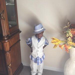 Boy Pants Outfit & Ralph Lauren/Nautical Shirts